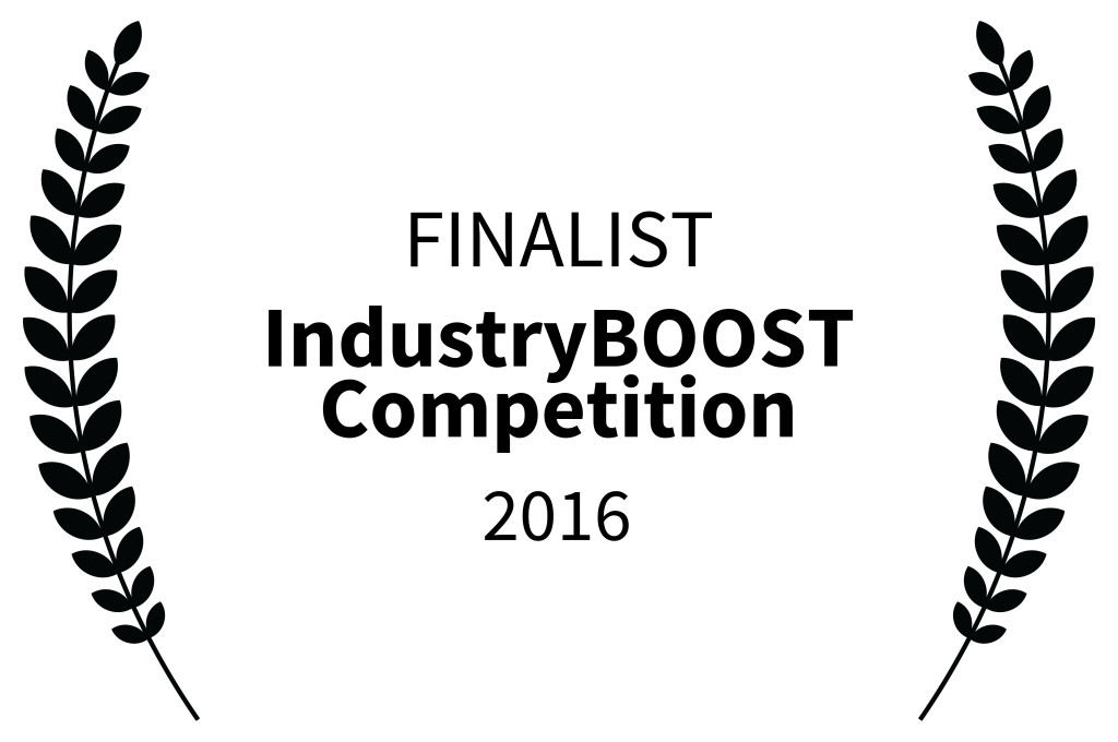 Finalist Industry Boost Competition 2016, december 2016, USA